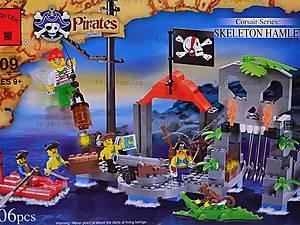 Конструктор «Пираты», 196 элементов, 309, фото