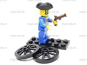 Конструктор «Пираты», 25 элементов, 1202, игрушки