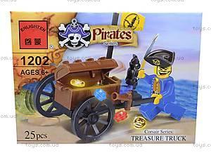 Конструктор «Пираты», 25 элементов, 1202, фото