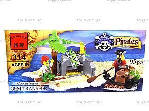 Конструктор «Пираты», 95 элементов, 314, отзывы