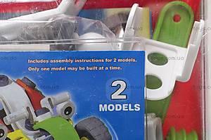 Конструктор пластиковый «2 модели машин», 2555-11A, фото