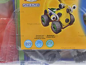 Модельный конструктор для детей «Машины», 2555-10A, фото