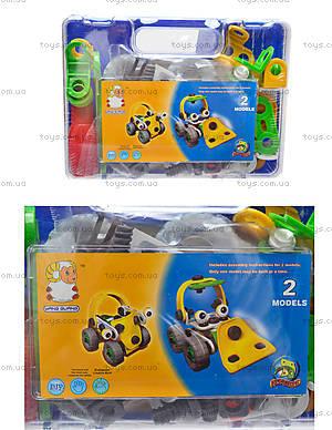 Модельный конструктор для детей «Машины», 2555-10A