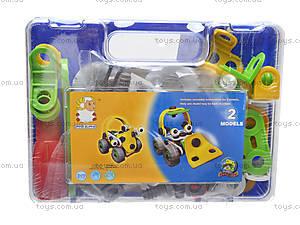 Модельный конструктор для детей «Машины», 2555-10A, детские игрушки