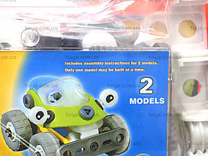 Пластиковый конструктор «Модели машин», 2555-12A, отзывы