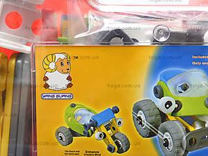 Пластиковый конструктор «Модели машин», 2555-12A, цена