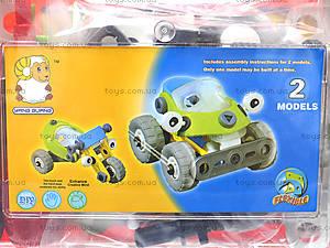 Пластиковый конструктор «Модели машин», 2555-12A, игрушки