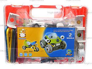 Пластиковый конструктор «Модели машин», 2555-12A, детские игрушки