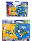 Детский конструктор «Модели машин», 2555-8A