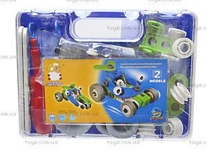 Детский конструктор «Модели машин», 2555-8A, детские игрушки
