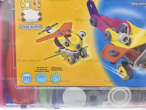 Конструктор пластиковый «Модели машин и вертолета», 2555-9A, цена