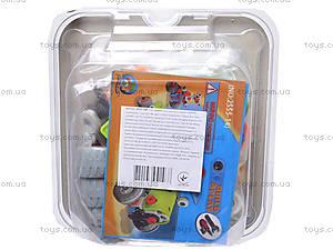 Детский конструктор «Веселые машинки», 2555-14E, фото