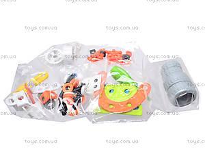 Детский конструктор «Веселые машинки», 2555-14E, отзывы