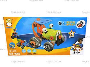 Конструктор «3 модели машин», 2555-14, купить