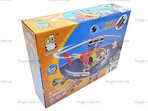 Детский конструктор «Модели вертолета и машины», 2555-17, отзывы