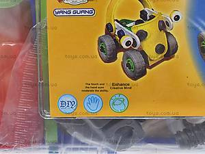 Конструктор пластиковый «Модели машин», 2555-10A, отзывы