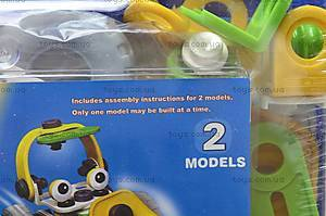 Конструктор пластиковый «Модели машин», 2555-10A, игрушки