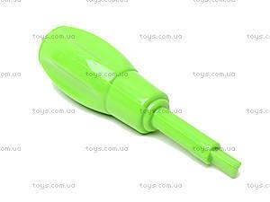 Конструктор пластиковый «Забавные машины», 2555-11, іграшки