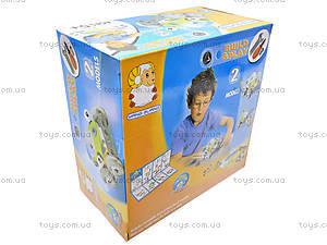 Конструктор пластиковый «Две модели машин», 2555-12, детские игрушки