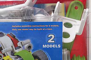 Конструктор пластиковый «Модели машин» для детей, 2555-11A, фото