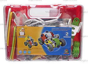 Конструктор пластиковый «Модели машин» для детей, 2555-11A