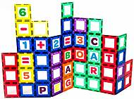 Конструктор Playmags магнитный 80 элементов, PM170, фото