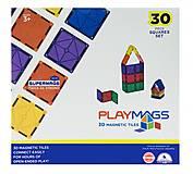 Конструктор Playmags магнитный набор 30 элементов, PM154, отзывы