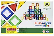 Конструктор Playmags магнитный набор 36 элементов, PM168