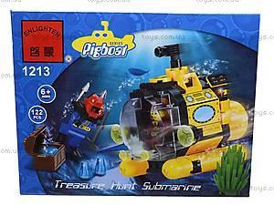 Конструктор «Подводная серия», 122 элемента, 1213, отзывы