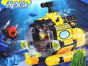 Конструктор «Подводная серия», 122 элемента, 1213, цена
