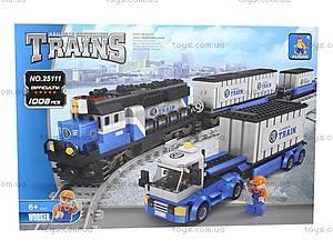 Конструктор «Поезд», 1008 деталей, 25111, toys.com.ua