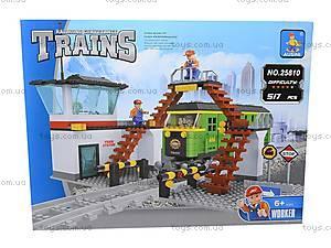 Конструктор «Поезд», 517 деталей, 25810, toys.com.ua