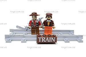 Конструктор «Поезд с древесиной», 25413, toys.com.ua