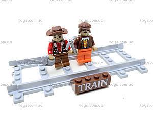 Конструктор «Поезд с древесиной», 25413, toys