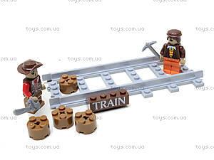 Конструктор «Поезд с древесиной», 25413, Украина