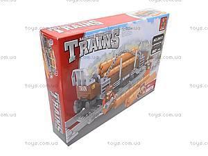Конструктор «Поезд с древесиной», 25413