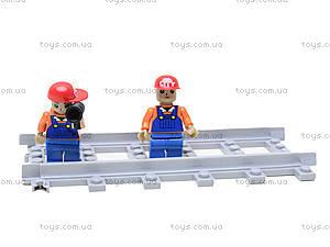 Конструктор «Поезд с краном», 25004, игрушка