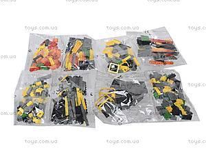 Конструктор «Поезд с краном», 25004, toys.com.ua