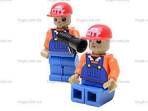 Конструктор «Поезд с машинами», 25412, toys