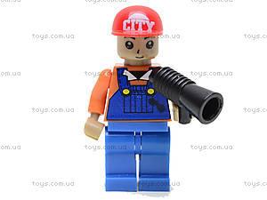 Конструктор «Поезд с машинами», 25412, іграшки