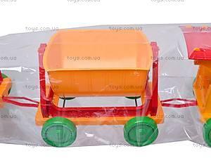 Конструктор-поезд с прицепами, 013784-2013118, фото