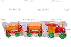 Конструктор-поезд с прицепами, 013784-2013118