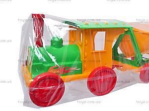 Конструктор-поезд с прицепом, 013784-1013117, купить