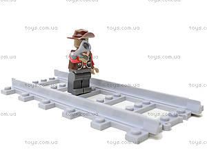 Конструктор «Поезд с вагонетками», 25705, купить игрушку
