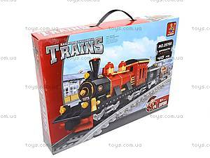 Конструктор «Поезд с вагонетками», 25705