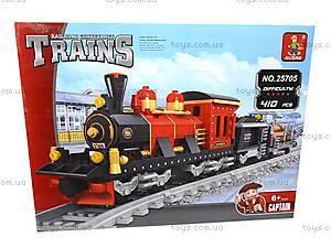 Конструктор «Поезд с вагонетками», 25705, toys.com.ua