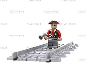 Конструктор «Поезд со станцией», 25811, купить игрушку