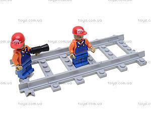 Конструктор «Поезд со станцией», 928 деталей, 25110, набор
