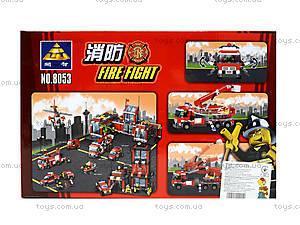 Конструктор для детей «Пожарная машина»,  244 детали, 8053, купить