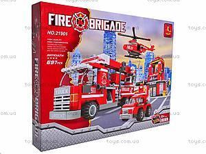 Конструктор «Пожарная бригада», 21901